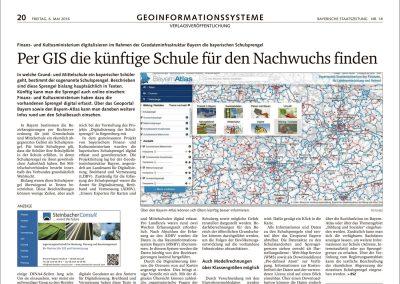KomVish™: Using 3D geodata in the municipal environment