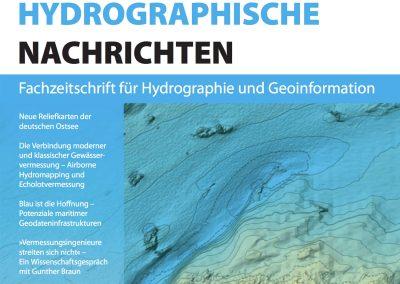 """AHM published a new paper in """"Hydrographische Nachrichten"""""""