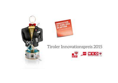 "AHM won the ""Tiroler Innovationspreis""!"