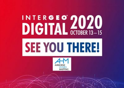 AHM at the first digital INTERGEO 2020