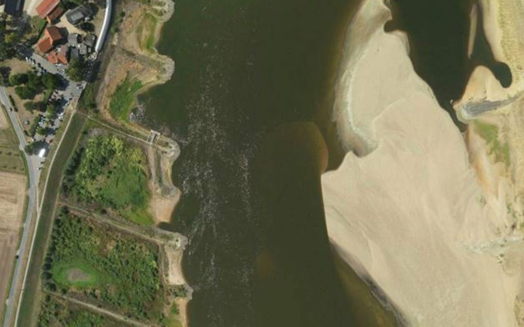 New Opportunities for Capturing the Topography of the River Elbe by Airborne Hydromapping in a Low Discharge Period 2018